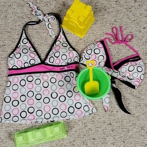 Bathing Suit ZeroXposur Two Pieces Swimsuits Bikini Top and Bottom UPF 30